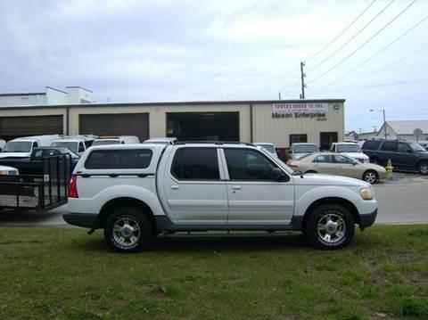 2003 Ford Explorer Sport Trac for sale at Mason Enterprise Sales in Venice FL