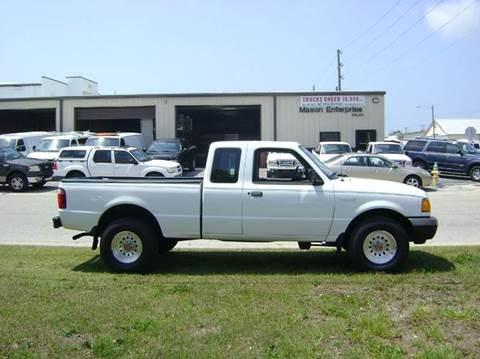 2001 Ford Ranger for sale at Mason Enterprise Sales in Venice FL