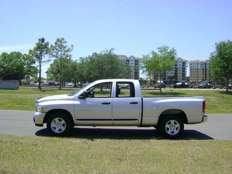 2005 Dodge Ram Pickup 1500 for sale at Mason Enterprise Sales in Venice FL