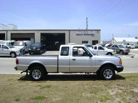 2001 Ford Ranger for sale in Venice, FL