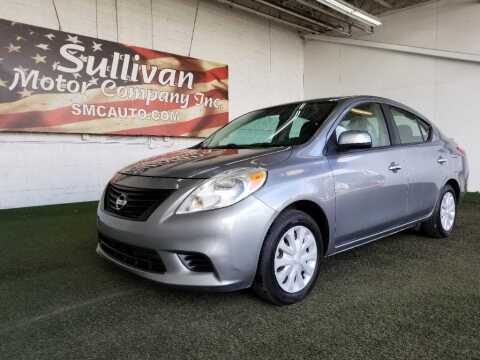 2013 Nissan Versa for sale at SULLIVAN MOTOR COMPANY INC. in Mesa AZ