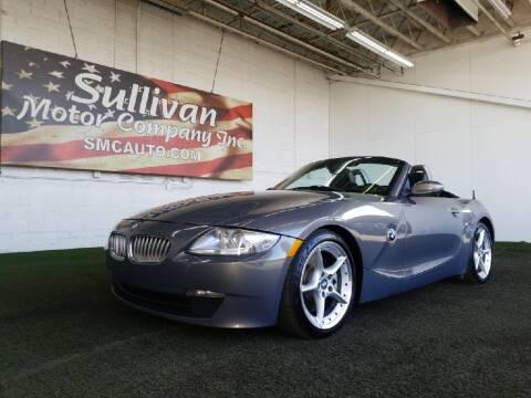 2007 BMW Z4 for sale at SULLIVAN MOTOR COMPANY INC. in Mesa AZ