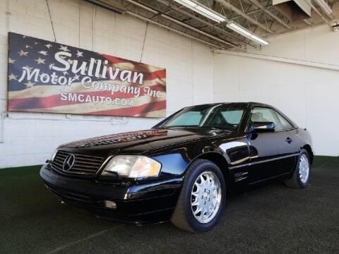1998 Mercedes-Benz SL-Class for sale at SULLIVAN MOTOR COMPANY INC. in Mesa AZ