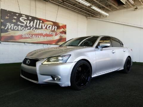 2014 Lexus GS 350 for sale at SULLIVAN MOTOR COMPANY INC. in Mesa AZ