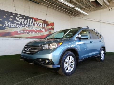 2014 Honda CR-V for sale at SULLIVAN MOTOR COMPANY INC. in Mesa AZ