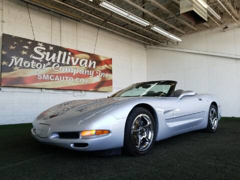 2000 Chevrolet Corvette for sale at SULLIVAN MOTOR COMPANY INC. in Mesa AZ