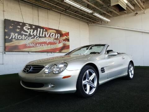 2003 Mercedes-Benz SL-Class for sale at SULLIVAN MOTOR COMPANY INC. in Mesa AZ