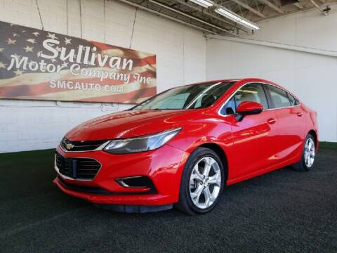 2017 Chevrolet Cruze for sale at SULLIVAN MOTOR COMPANY INC. in Mesa AZ