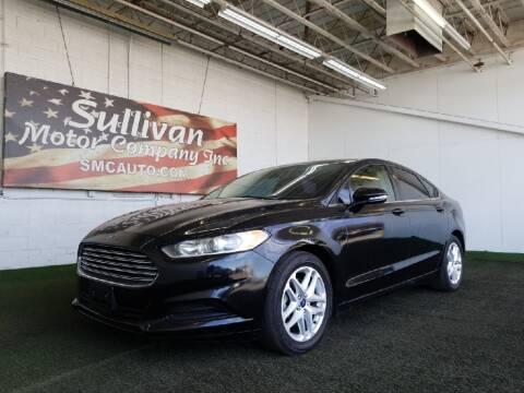 2015 Ford Fusion for sale at SULLIVAN MOTOR COMPANY INC. in Mesa AZ