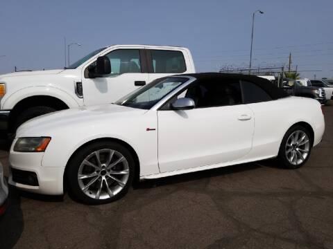 2011 Audi S5 for sale at SULLIVAN MOTOR COMPANY INC. in Mesa AZ