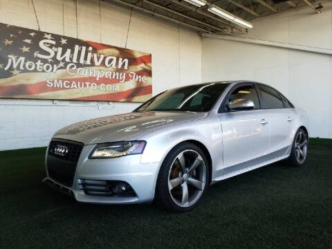 2011 Audi S4 for sale at SULLIVAN MOTOR COMPANY INC. in Mesa AZ