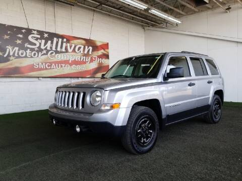 2016 Jeep Patriot for sale at SULLIVAN MOTOR COMPANY INC. in Mesa AZ