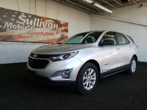2018 Chevrolet Equinox for sale at SULLIVAN MOTOR COMPANY INC. in Mesa AZ