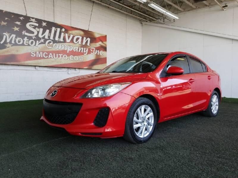 2013 Mazda MAZDA3 for sale at SULLIVAN MOTOR COMPANY INC. in Mesa AZ