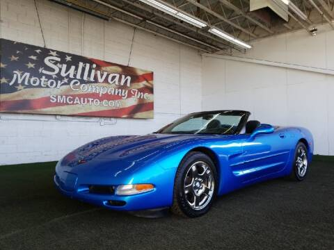 1998 Chevrolet Corvette for sale at SULLIVAN MOTOR COMPANY INC. in Mesa AZ