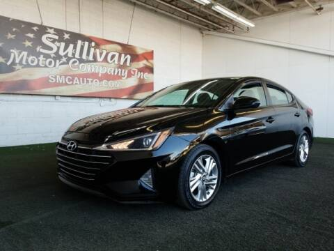 2019 Hyundai Elantra for sale at SULLIVAN MOTOR COMPANY INC. in Mesa AZ