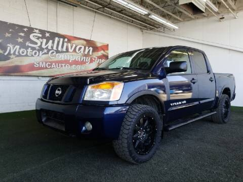 2011 Nissan Titan for sale at SULLIVAN MOTOR COMPANY INC. in Mesa AZ