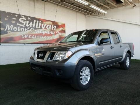 2017 Nissan Frontier for sale at SULLIVAN MOTOR COMPANY INC. in Mesa AZ