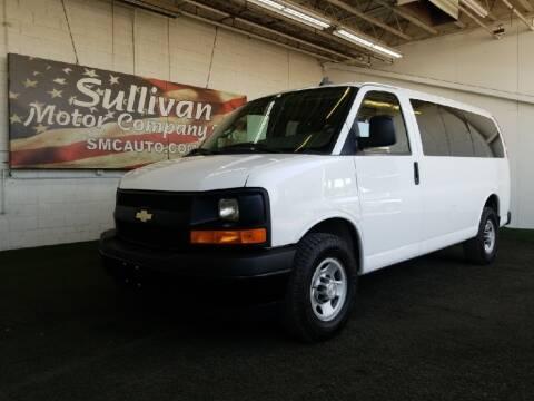 2017 Chevrolet Express Passenger for sale at SULLIVAN MOTOR COMPANY INC. in Mesa AZ