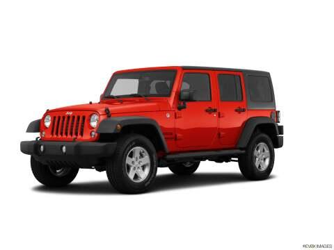 2015 Jeep Wrangler Unlimited for sale at SULLIVAN MOTOR COMPANY INC. in Mesa AZ