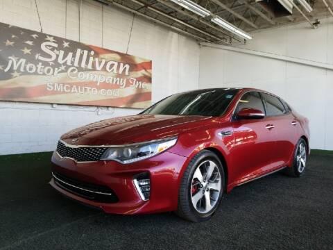 2018 Kia Optima for sale at SULLIVAN MOTOR COMPANY INC. in Mesa AZ