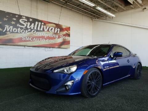 2014 Scion FR-S for sale at SULLIVAN MOTOR COMPANY INC. in Mesa AZ