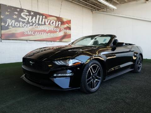 2019 Ford Mustang for sale at SULLIVAN MOTOR COMPANY INC. in Mesa AZ