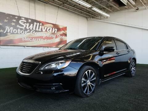 2013 Chrysler 200 for sale at SULLIVAN MOTOR COMPANY INC. in Mesa AZ