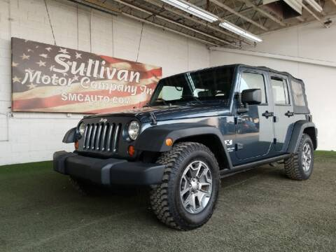 2008 Jeep Wrangler Unlimited for sale at SULLIVAN MOTOR COMPANY INC. in Mesa AZ
