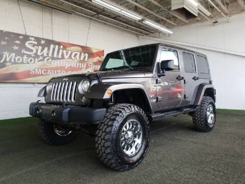 2018 Jeep Wrangler JK Unlimited for sale at SULLIVAN MOTOR COMPANY INC. in Mesa AZ