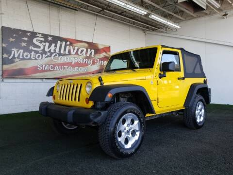 2008 Jeep Wrangler for sale at SULLIVAN MOTOR COMPANY INC. in Mesa AZ