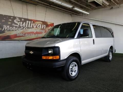 2012 Chevrolet Express Passenger for sale at SULLIVAN MOTOR COMPANY INC. in Mesa AZ