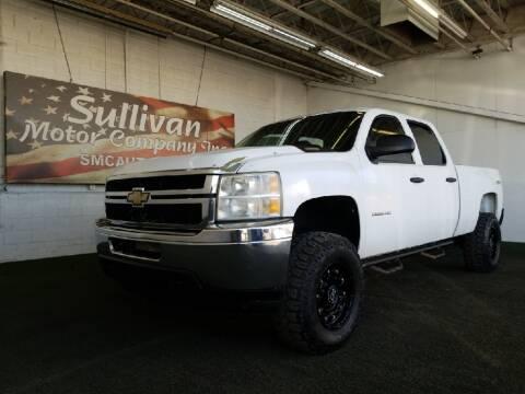 2011 Chevrolet Silverado 2500HD for sale at SULLIVAN MOTOR COMPANY INC. in Mesa AZ