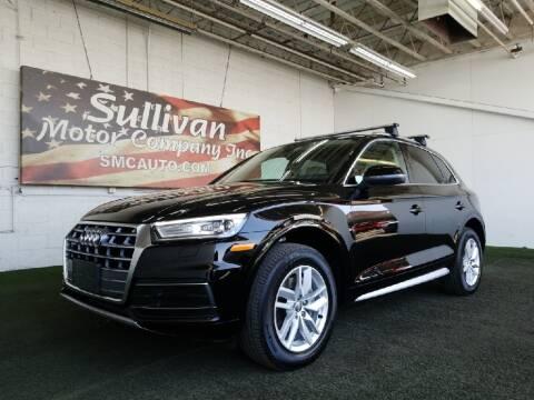 2020 Audi Q5 for sale at SULLIVAN MOTOR COMPANY INC. in Mesa AZ