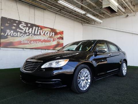 2011 Chrysler 200 for sale at SULLIVAN MOTOR COMPANY INC. in Mesa AZ