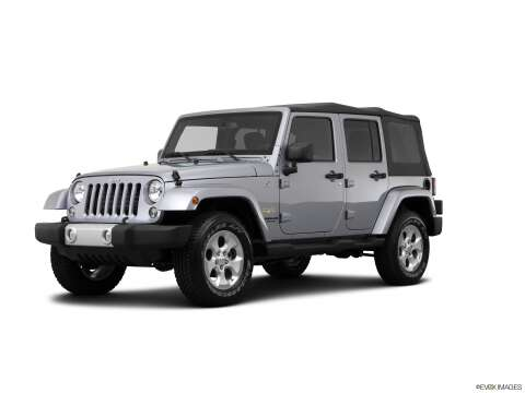 2014 Jeep Wrangler Unlimited for sale at SULLIVAN MOTOR COMPANY INC. in Mesa AZ