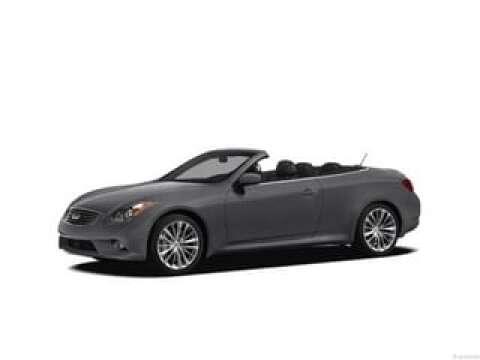 2012 Infiniti G37 Convertible for sale at SULLIVAN MOTOR COMPANY INC. in Mesa AZ