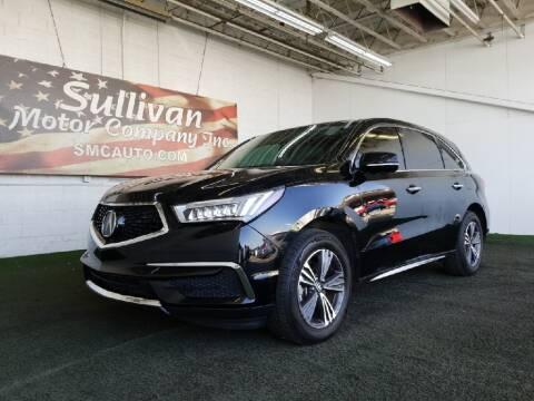 2018 Acura MDX for sale at SULLIVAN MOTOR COMPANY INC. in Mesa AZ