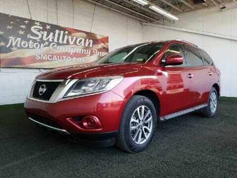 2014 Nissan Pathfinder for sale at SULLIVAN MOTOR COMPANY INC. in Mesa AZ