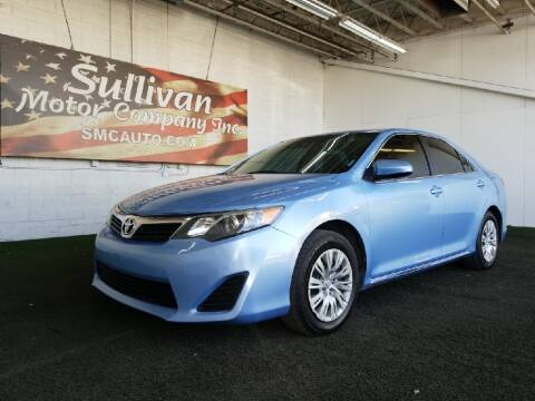 2012 Toyota Camry for sale at SULLIVAN MOTOR COMPANY INC. in Mesa AZ