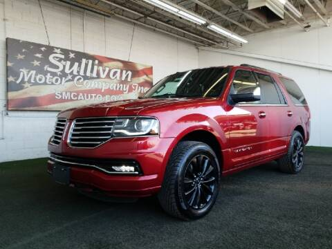2016 Lincoln Navigator for sale at SULLIVAN MOTOR COMPANY INC. in Mesa AZ