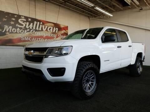 2018 Chevrolet Colorado for sale at SULLIVAN MOTOR COMPANY INC. in Mesa AZ