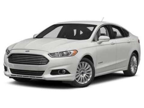 2015 Ford Fusion Hybrid for sale at SULLIVAN MOTOR COMPANY INC. in Mesa AZ