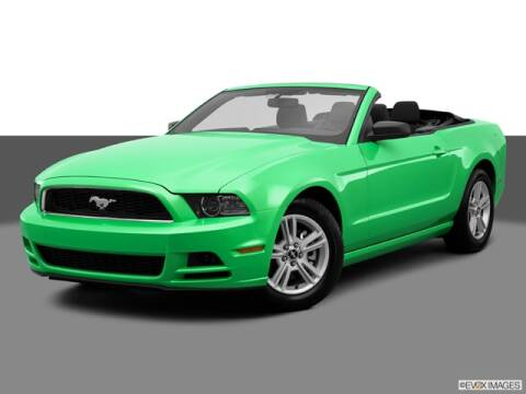 2013 Ford Mustang for sale at SULLIVAN MOTOR COMPANY INC. in Mesa AZ