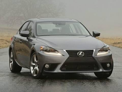 2014 Lexus IS 350 for sale at SULLIVAN MOTOR COMPANY INC. in Mesa AZ
