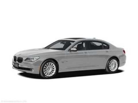 2012 BMW 7 Series for sale at SULLIVAN MOTOR COMPANY INC. in Mesa AZ