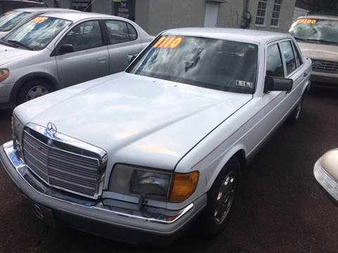 1987 Mercedes-Benz 420-Class for sale in Plumsteadville, PA