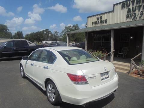 2009 Honda Accord EX V6 4dr Sedan 5A In Fairfield TX