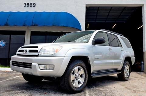 2004 Toyota 4Runner for sale in Hollywood, FL