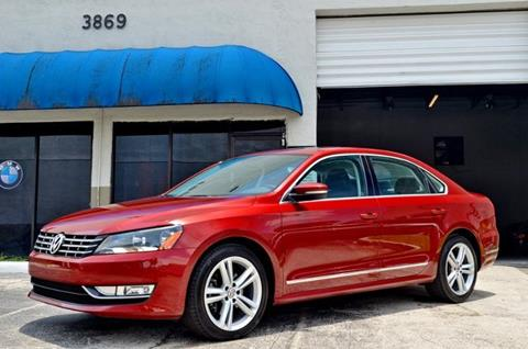 2015 Volkswagen Passat for sale in Hollywood, FL